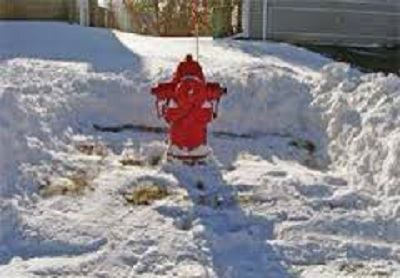 Properly Cleared Fire Hydrant