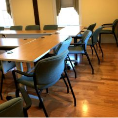 Classroom Tables and Comfortable Chairs