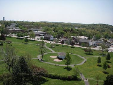 Town Center Commons Aerial View